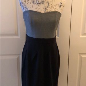 Shoshanna strapless statement dress